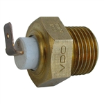2424 VDO Oil Relief Plug Oil Temp Sender