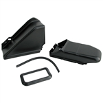 2692 Air Channel Kit - Black (2 pieces)