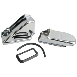 2697 Air Channel Kit - Chrome (2 pieces)