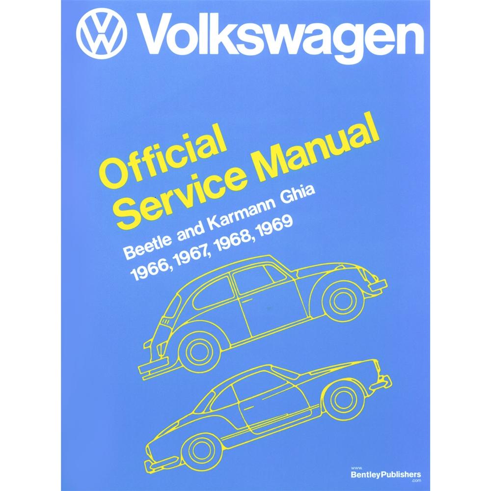 2861 Volkswagen Beetle And Karman Ghia Service Manual 66 69