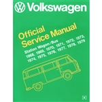 2863 Volkswagen Station Wagon/Bus Official Service Manual 68-79