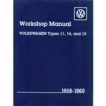 2883 Volkswagen Types 11, 14, and 15 Service Manual 58-60