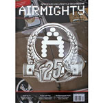 2937b AIRMIGHTY (Issue 25 - Winter 2016) Aircooled VW Lifestyle Megascene (Brown Bus Cover)