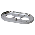 3337 Aluminum Air Filter Base - Universal without Linkage Arms - IDF & DRLA (each)