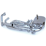 "3517 A-1 Sidewinder Ceramic Coated Exhaust (1 1/2"") with Hidden Tail Pipe (fits Sedan, Early Bus & Ghia)"