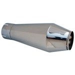3532 Bombshell Muffler - 3'' exhaust outlet