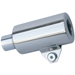 3533 S/S Turbo Shorty Muffler - 2'' exhaust outlet
