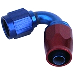 3856 XRP - #6 Double Swivel Hose End - 120 Degree