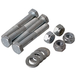 4072 Heavy Duty Shock Bolt Kits - Rear ('69-on) includes 4 bolts, 8 washers & 4 shake proof nuts