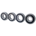 4127 Sealed Spindle Mount Bearings for Aluminum Wheels (set of 4)