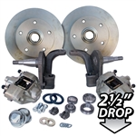 4178 Dropped Disc Brake Kit (Link Pin) with 5 Lug Porsche Alloy bolt pattern