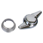4250 2 Spoke Knock Offs - Chrome (set of 4)
