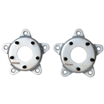 4258 Wheel Adapters (pair) Adapts 5 x 205mm VW to 5 x 130mm Porsche Pattern - 14mm studs