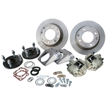 4270 Competition Rear Disc Brake Kit without Parking Brakes, fits short swing axle to '67 - Late 4 Lug bolt pattern