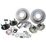 4271 Competition Rear Disc Brake Kit without Parking Brakes, fits long swing axle, 1968 only - Late 4 Lug bolt pattern