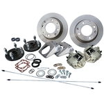 4272 Competition Rear Disc Brake Kit without Parking Brakes, fits IRS '69-on - Late 4 Lug bolt pattern