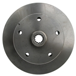 4605 Rear Replacement Rotor - 5 Lug Porsche (long)