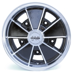 4801 Flat 4 BRM Wheel - Black 5 Lug (60 Degree Nut)