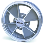 4804 Flat 4 BRM Wheel - Grey 4 Lug (60 Degree Nut)