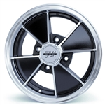 4805 Flat 4 BRM Wheel - Black 4 Lug (60 Degree Nut)
