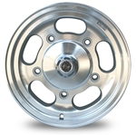 4807 Flat 4 Slotted Dish Wheel (5 Lug VW) 15 x 5.5''