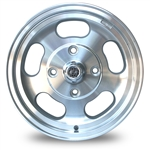4810 Flat 4 Slotted Dish Wheel (4 Lug VW) 15 x 5.5''