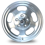 4811 Flat 4 Slotted Dish Wheel (5 Lug VW Type-2) 15 x 5.5''
