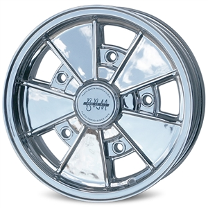 4816 Flat4 Full Chrome BRM Wheel