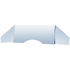 5991 Stainless Steel Firewall - Polished (3 pieces)
