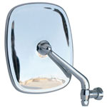 6017 Chrome Type-2 Bus Mirror (Passenger Side)