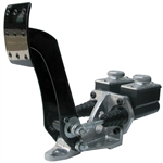 6203 Brake Pedal Assembly - JAMAR w/Slim Line Master Cylinder & Easy Fill Tops