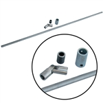 6233 JAMAR Super Shifter Rod Kit (rod, heim joint, & coupler)