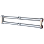 6235 JAMAR Front Beam - Billet Aluminum Adjustable without Shock Towers