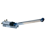 6349 CNC Turning Brake - Dual Angled Handle - 3/4 Inch Bore