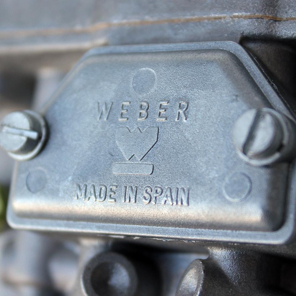 WEBER 36//40 IDF  PUMP JET PUSH IN TYPE