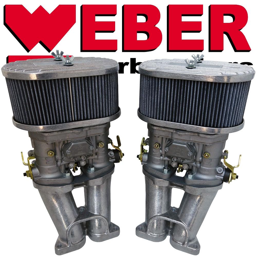 6415 Dual Weber 44 IDF Kit - 356-912 Porsche