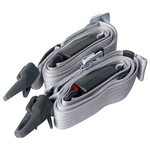 7017 Seat Belts - 3 Point - Grey (one pair)