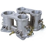 7097 40mm Throttle Bodies - w/ Injector Ports (1 pair)