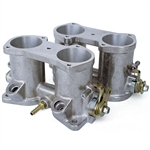 7098 48mm Throttle Bodies - w/ Injector Ports (1 pair)