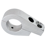 7188 Polished Billet Whip Mount - Clamp On (1 1/2'' tubing)