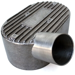 "7313t Aluminum Pressure Cover - left side, 2"" inlet - fits offset manifolds"