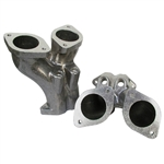 7359 Offset Manifolds - IDF & DRLA - Machined for Injectors (set of 2)