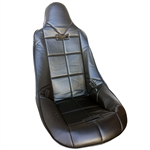 7452 High Back Turbo Pro Seat Cover (Black)