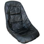 7457 Low Back Turbo Pro Seat Cover (Black)