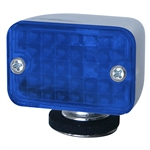 7658 Compact Chrome Lights (Blue) SPECIAL