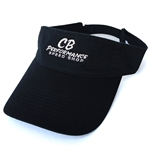 7989 Black CB Speed Shop Visor