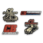 7995 CB Performance Lapel Pins (set of 4)