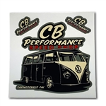 8020 Stickers - CB Performance Speed Shop (Split Window Bus)