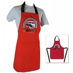 8044 VW Bus Apron in Gift Box (Vintage Logo - Red)