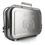 8047 VW Bus Portable BBQ Grill - Stainless Steel